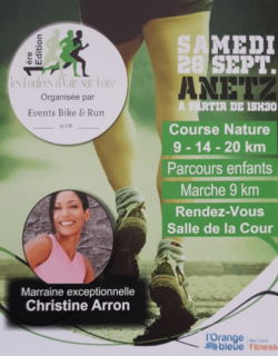 flyer d'une marche organisé par Events Bike and Run le 28 septembre